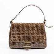 RRP £1,450 Fendi Mama Forever Shoulder Bag Tan/Brown - AAR3512 - Grade A - Please Contact Us