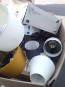 RRP £700 Pallet To Contain Assorted John Lewis Lighting Items To Include Floor Lamps And Shades And