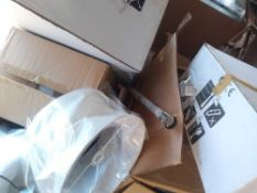 RRP £500 Pallet To Container Assorted John Lewis Items To Include Lamp Shades Ceiling And Wall Light
