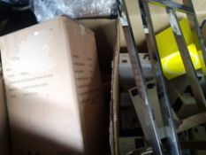 ✓RRP £900 Pallet To Contain Assorted John Lewis Table Lamps And Ceiling/Wall Lights And Metal