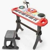 RRP £100 Lot To Contain 5 Boxed Lets Rock John Lewis And Partners Childrens Electric Keyboards