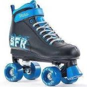 RRP £90 Lot To Contain 3 Boxed Pairs Of Sfr Roller Boots With Skating Helmets 8.084 (Appraisals