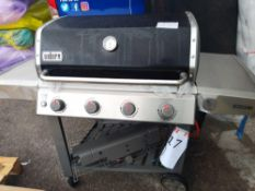 RRP£800 Weber Genesis E-410 4 Burner Bbq (In Need Of Attention And New Parts) (3017247)(Apprasials