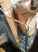 RRP£600 Cage To Contain Assorted John Lewis Fabrics And Roller Blind(Apprasials Are Available On