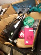 RRP£600 Pallet To Contain Assorted Household Items To Include Strimmers,Kitchen Electrical Items,Art