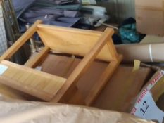 RRP£600 Pallet To Contain Assorted Part Lot Household Furniture To Include Sideboards(Apprasials Are