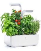 RRP £175 Boxed Veri Table Smart Edition Indoor Smart Planter 444445 (Appraisals Available On