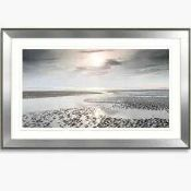 RRP £180 Framed Reflections From Heaven By Artists Mike Shepherd Wall Art Picture 725256 (Appraisals