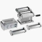 RRP £170 Boxed Marcato Multipassed Pasta Rolling Machine 1493598 (Appraisals Available On