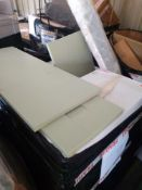 RRP £600 Pallet To Contain Assorted Items To Include Vanity'S Units And Part Lot Xanti Bar Tables