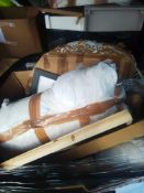 RRP £600 Pallet To Contain Assorted Household Items To Include Picture Frames,Blinds,Soft Furnishing