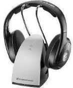 RRP £100 Boxed Pair Of Sennheiser Rs120 Wireless Tv Headphones (407073) (Appraisals Are Available On
