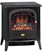 RRP £120 Warm Light Fire Flame Effect Electric Stove Heater (Appraisals Are Available On Request) (