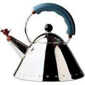 RRP £125 Boxed Alessi 9093 Stove Top Kettle (938289) (Appraisals Are Available On Request) (Pictures