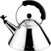 RRP £125 Unboxed Alessi 9093 Stove Top Kettle (417571) (Appraisals Are Available On Request) (