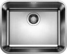 RRP £165 Boxed Blanco Supra Single Bowl Sink Unit (3058756) (Appraisals Are Available On Request) (