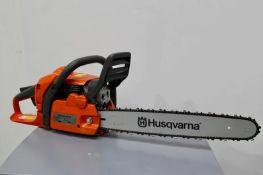 Husqvarna Petrol Chainsaw 40.9cc 18in Bar