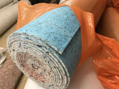 25x4m Total 100m2 10mm PU Carpet Underlay