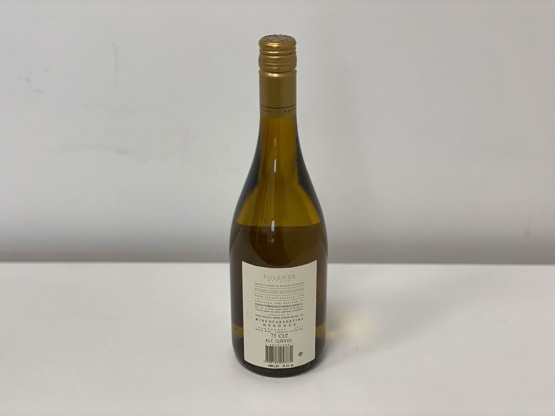 60 Bottles (10 Cases) 2019 Pulenta Estate - Pulenta Estate - Chardonnay - Mendoza - Image 2 of 2