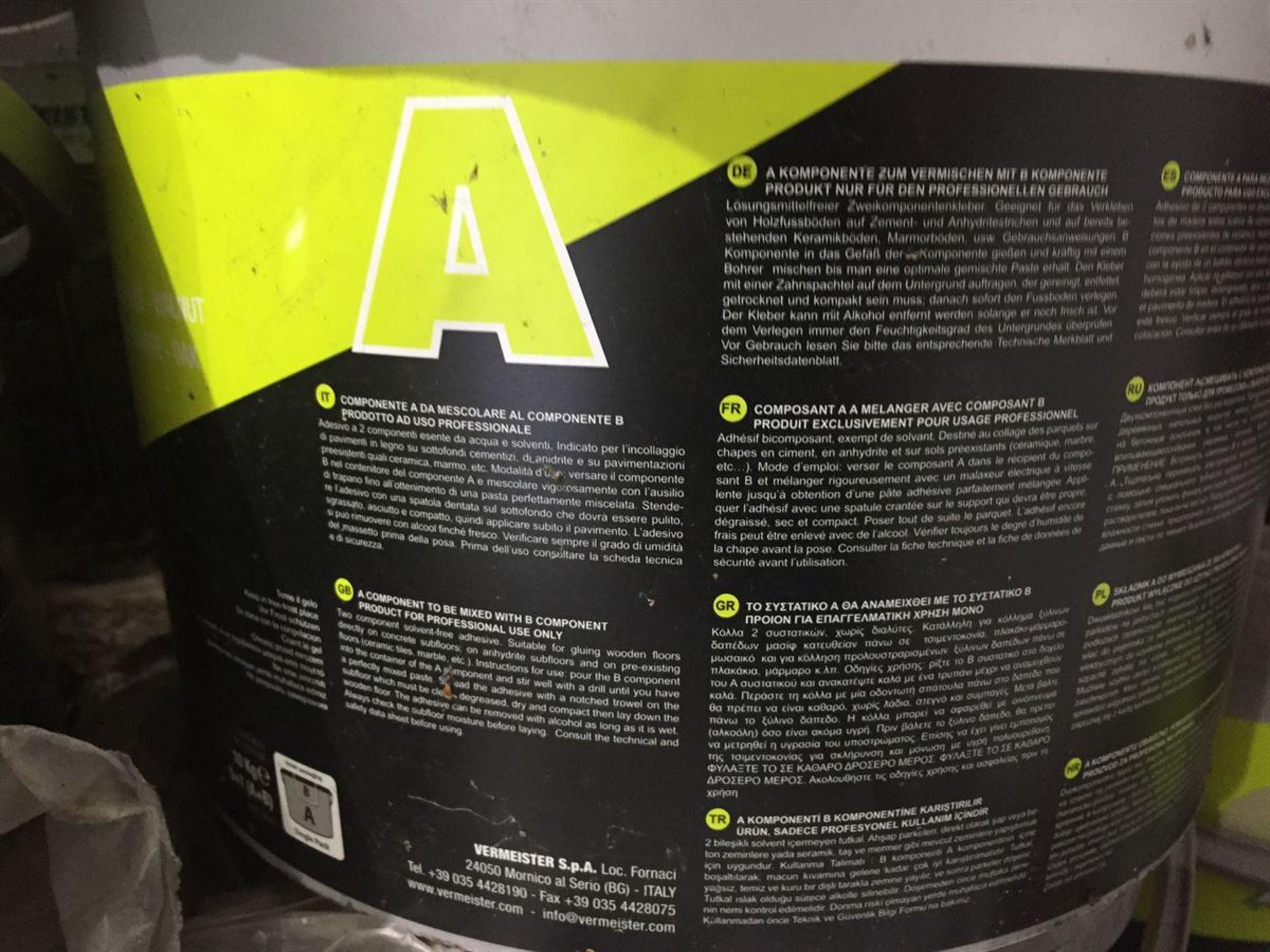 1x 10kg Tub VerMeister 2pak Wood flooring Adhesive - Image 2 of 5