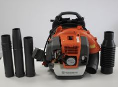 Husqvarna Petrol 50.2cc Back Pack Blower