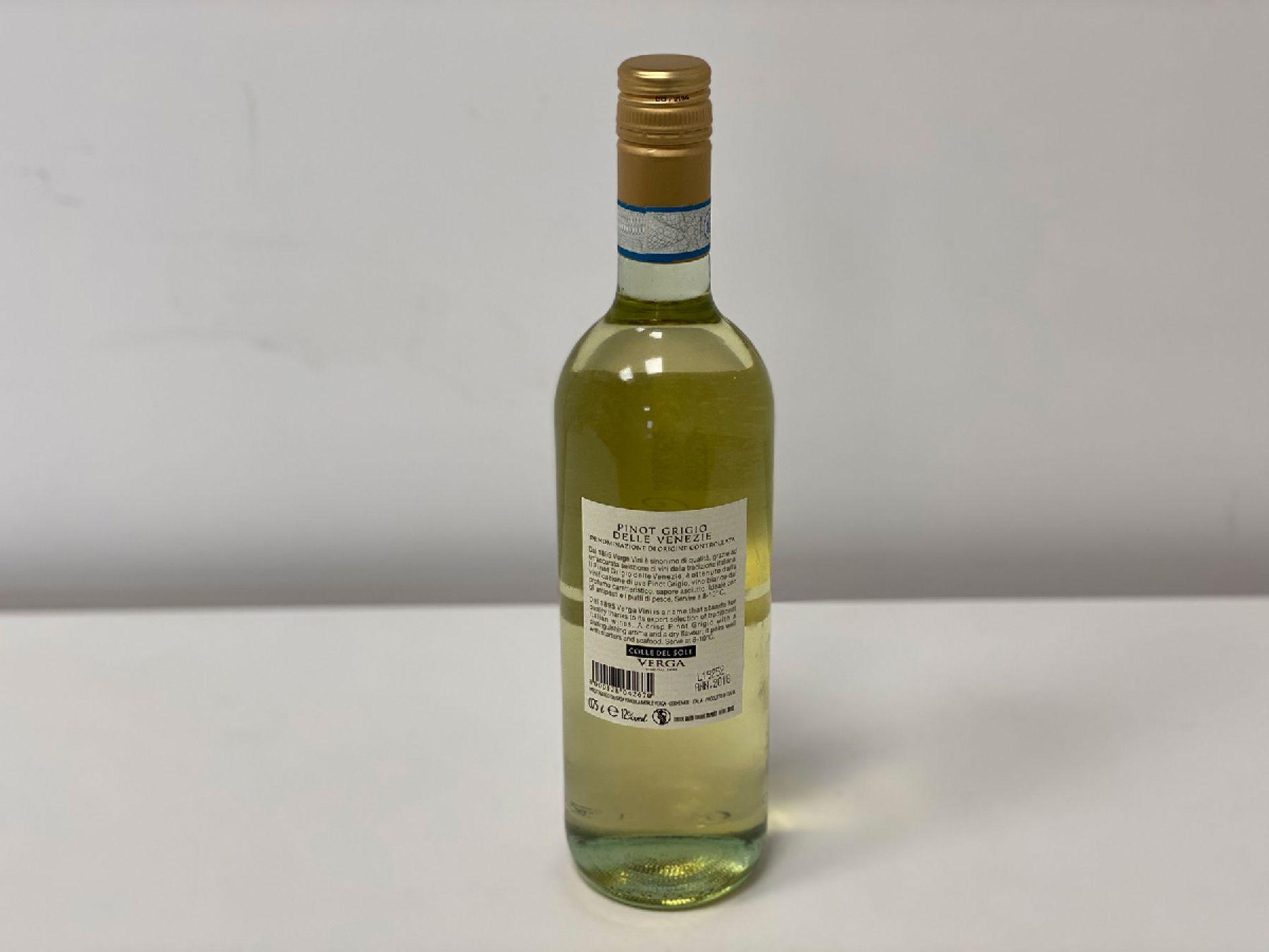 6 Bottles (1 Case) of Natale Verga - Pinot Grigio - Colle del Sole - Venezie DOC - Natale Verga - V - Image 2 of 2