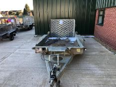 Ifor Williams twin axle plant trailer HO726671 TR10