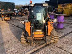 Case model TV380 tracked loader, with water suppression system, piped for attachments, serial no.