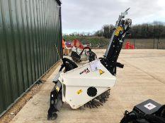 Unused Simex model TA300 wheel saw with waste conveyor, serial no. MO23965B14, Year - 2018