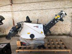 Unused Simex model TA300 wheel saw, with waste conveyor, serial no. MO23966B14, Year - 2018