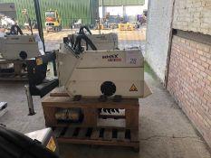 Unused Simex model FT300 wheel saw, serial no. MO18902B01, Year - 2017