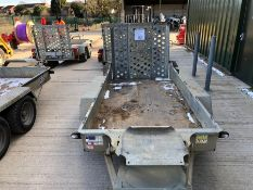 Ifor Williams twin axle plant trailer HO725226 TR6