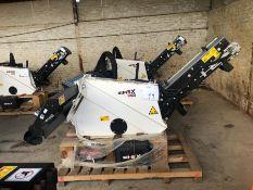 Unused Simex model TA300 wheel saw with waste conveyor, serial no. MO23963B14, Year - 2018