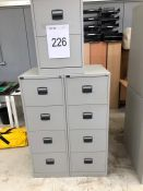 Various Dams Filing Cabinets as lotted