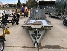 Ifor Williams twin axle plant trailer HO732400