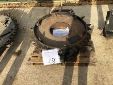 Spare saw wheel as lotted