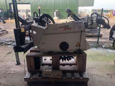 Unused Simex model FT300 wheel saw, serial no. MO19226B01, Year - 2017