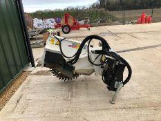Simex model FT300 wheel saw, serial no. M019288B01, Year - 2017
