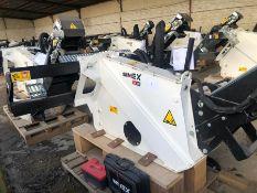 Unused Simex model TA300 wheel saw with waste conveyor, serial no. MO23964B14, Year - 2018