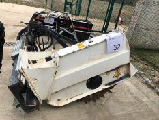 Simex model T300 wheel saw, serial no. MO18383O81, Year - 2017 ( Excludes Case Loader )