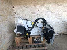 Unused Simex model FT300 wheel saw, serial no. MO18900B01, Year - 2017