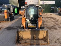 Case model SR175 mini loader, with water suppression system, piped for attachments, serial no.