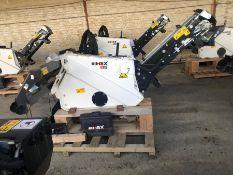 Unused Simex model TA300 wheel saw with waste conveyor, serial no. MO24792B14, Year - 2018