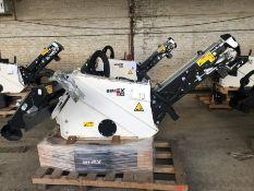 Unused Simex model TA300 wheel saw with waste conveyor, serial no. MO24185B14, Year - 2018