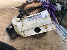 Simex model T300 wheel saw, serial no. MO17763BO2, Year - 2017