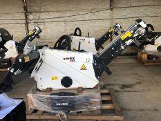 Unused Simex model TA300 wheel saw with waste conveyor, serial no. MO24188B14, Year - 2018