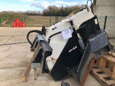 Simex model T600 wheel saw, serial no. M018153B03, Year - 2017 ( Excludes Case Loader )