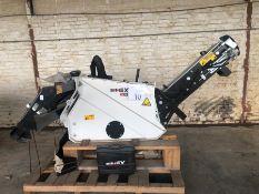 Unused Simex model TA300 wheel saw with waste conveyor, serial no. MO24793B14, Year - 2018