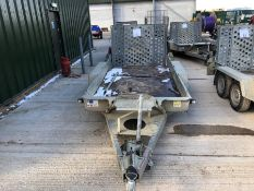 Ifor Williams twin axle plant trailer HO724378 TR8