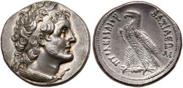 Ptolemaic Kingdom. Ptolemy V or Ptolemy VI. Silver Tetradrachm (14.03 g), 204-180 BC or 180-145 BC.
